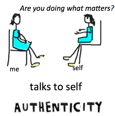 authenticity graphic color talk