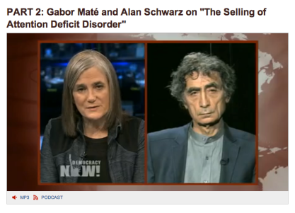 gabor on democracy now