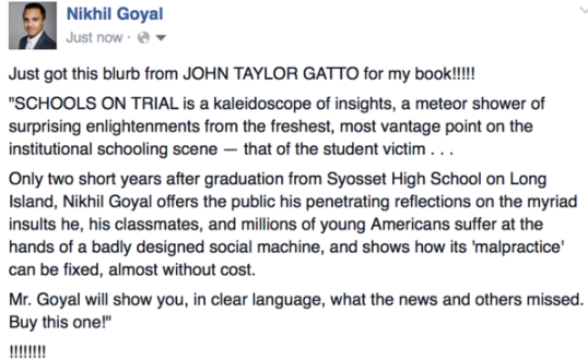 gatto blurb for nikhil