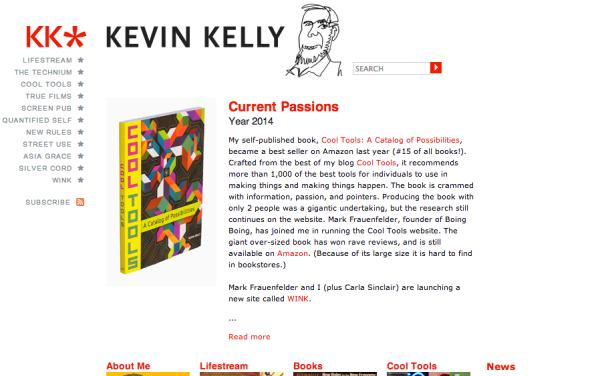 kevin kelly site