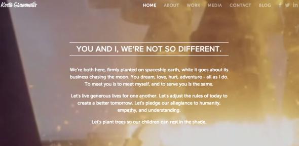kostas new site