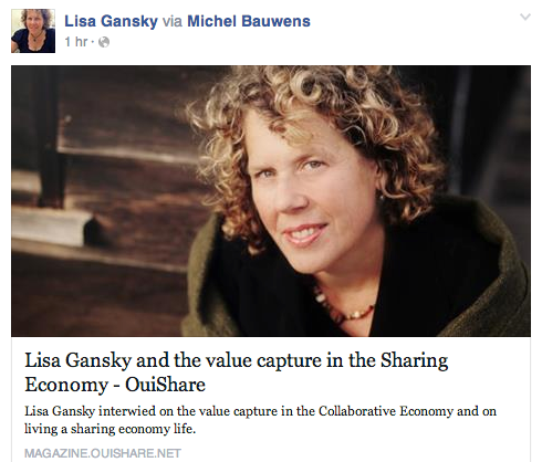 lisa gansky post