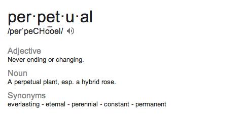Perpetual Beta Glossary Be You