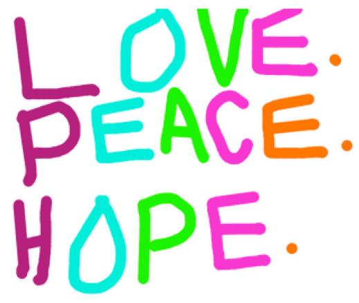 shea love peace hope
