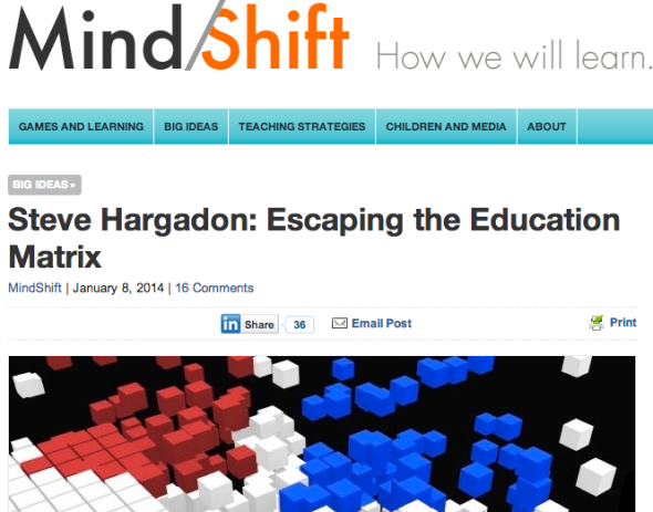 steve hargadon on mindshift