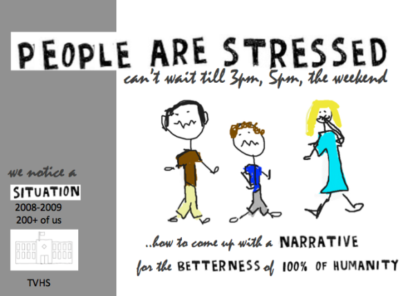 story people are stressed
