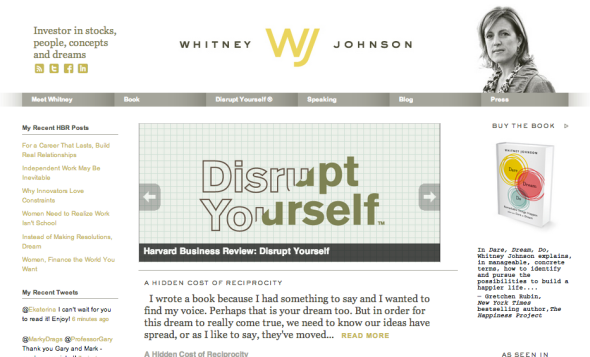 whitney johnson site