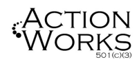 action works logo