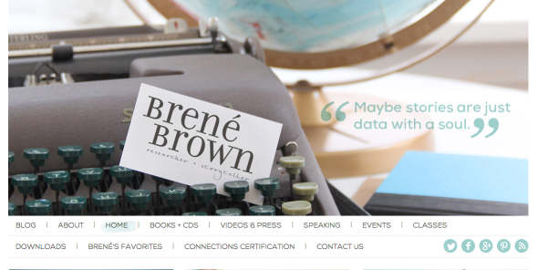 brene brown site