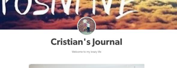 cristian's journal