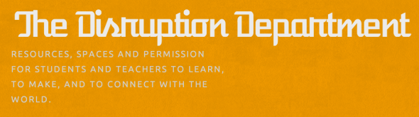 disruption dept new site