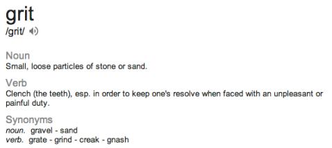 grit defn