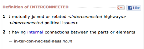 interconnectedness