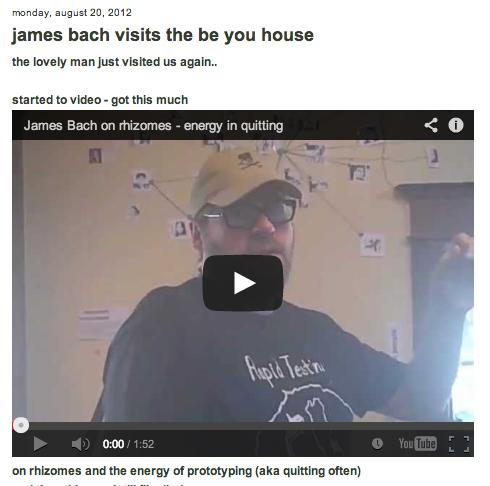 james 2nd visit