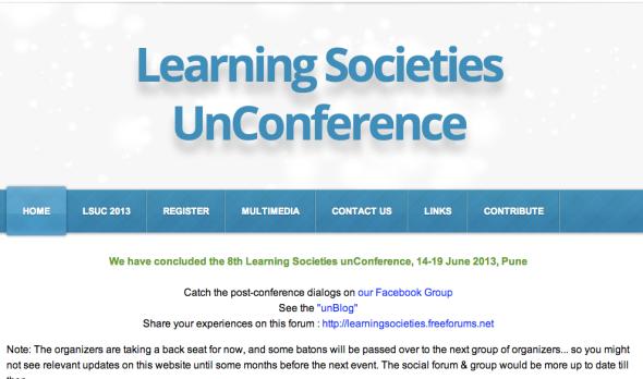 learning societies uncon