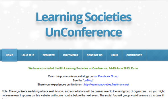 learning societies uncon