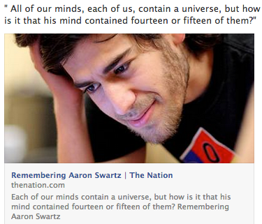 remembering aaron