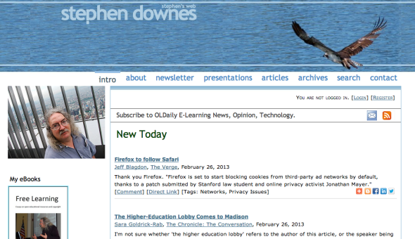 stephen downes site