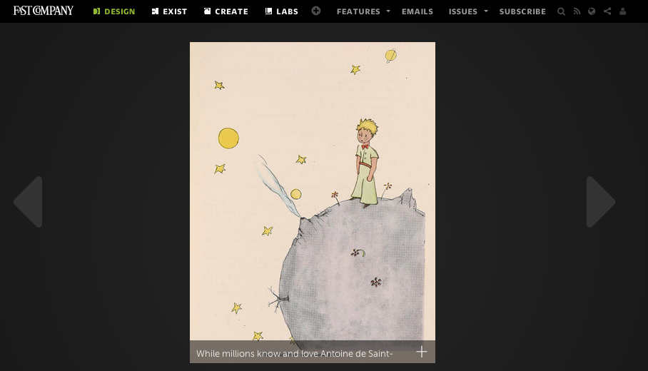 the little prince making