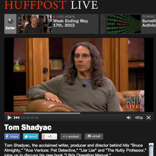 tom jadyac on huff po