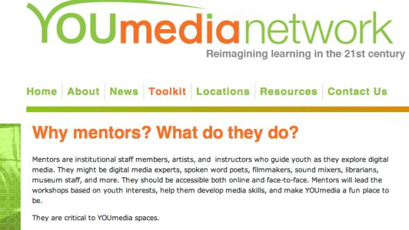 youmedia on mentors