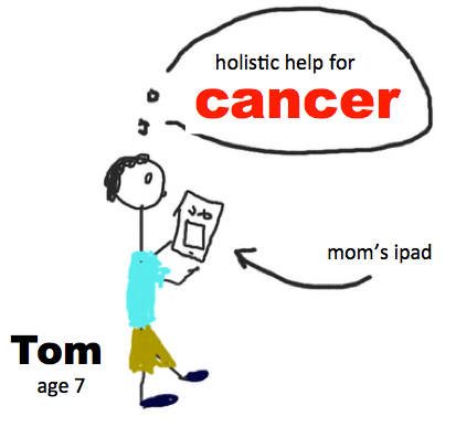 a graphic tom