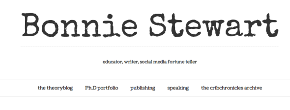 bonnie stewart site take 1