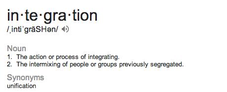 integration defn