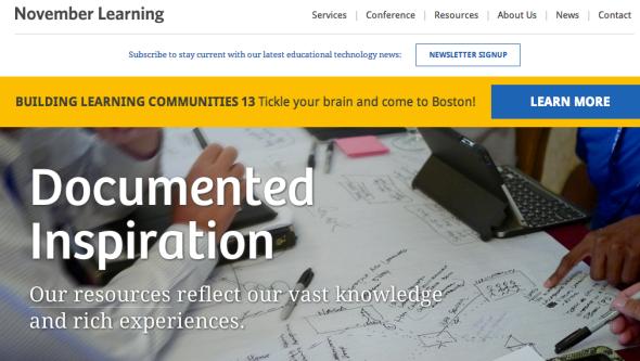 november learning site