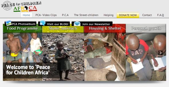 peace for children site