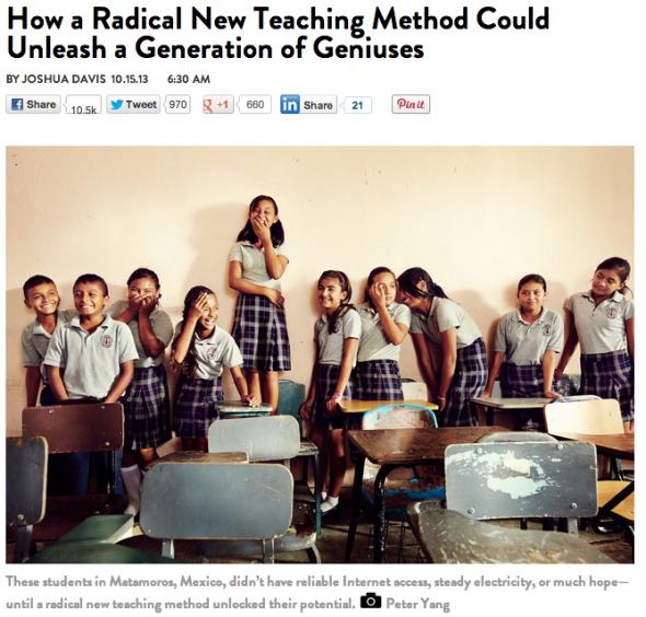 radical new teaching method