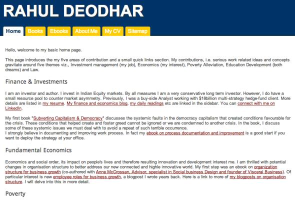 rahul's site