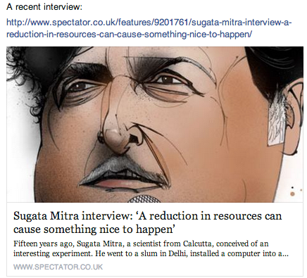 recent interview sugata