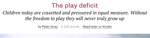 the play deficit gray