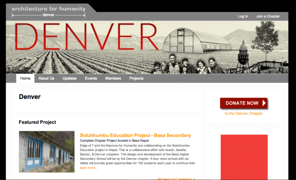 architecture for humanity denver