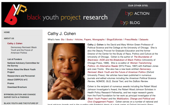 cathy cohen byp