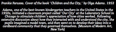 children in the city words