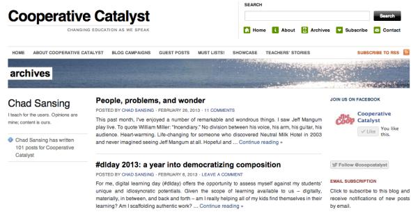 cooperative catalyst