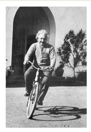 einstein_on_bike