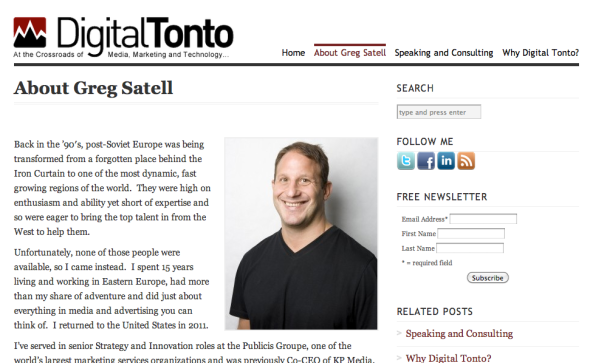 greg satell's site