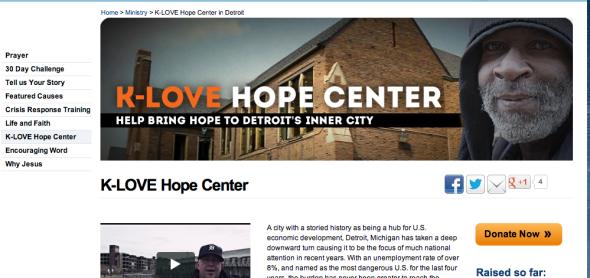 k love hope center