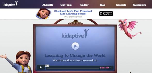 kidaptive site