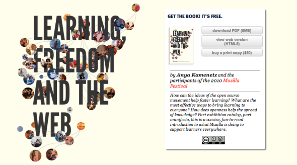 learning freedom ad the web