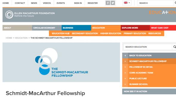 schmidt macarthur fellowship