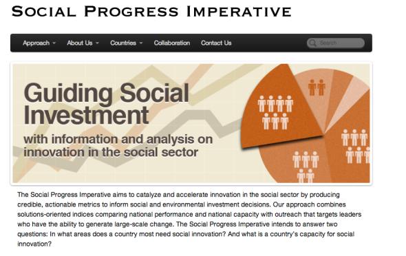 social progress imperative