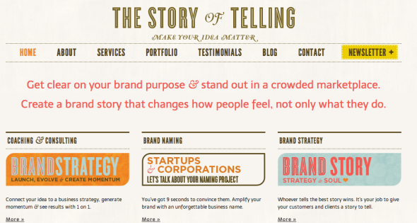 the story of telling site