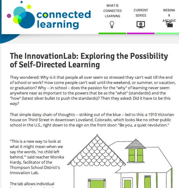 connected learning post