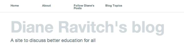 diane ravitch's blog