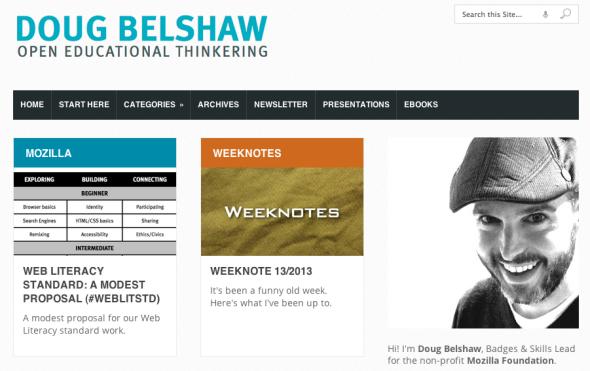 doug belshaw's site