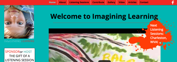 imagining learning site